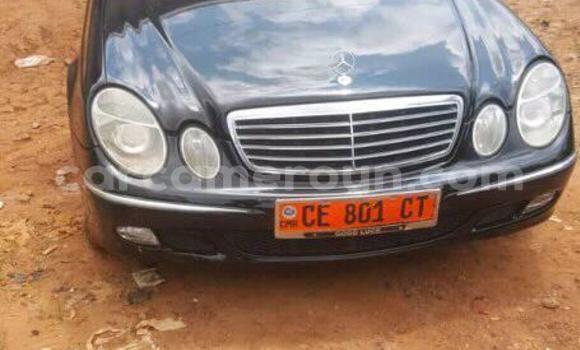 Acheter Occasions Voiture Mercedes Benz E–Class Noir à Yaoundé au Central Cameroon