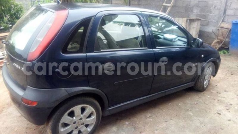 Buy Used Opel Corsa Black Car In Yaounde In Central Cameroon