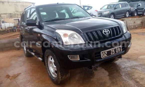 Acheter Occasions Voiture Toyota Land Cruiser Prado Noir à Yaoundé, Central Cameroon