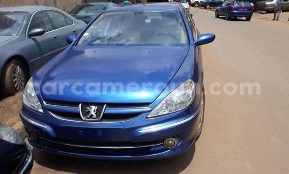 Acheter Occasion Voiture Peugeot 607 Bleu à Yaoundé, Central Cameroon