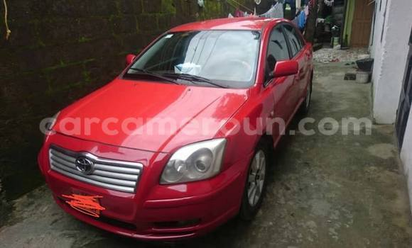 Acheter Occasions Voiture Toyota Avensis Rouge à Douala, Littoral Cameroon