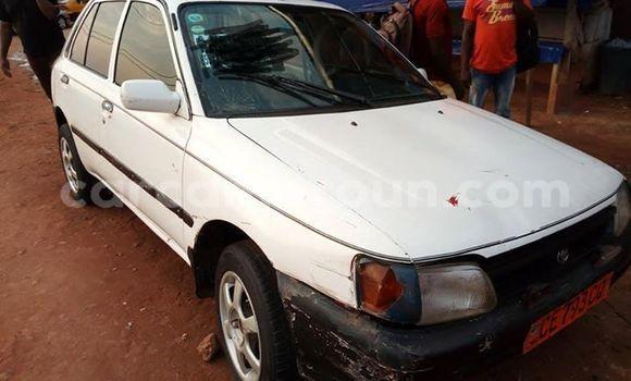 Acheter Occasion Voiture Toyota Starlet Blanc à Yaoundé, Central Cameroon