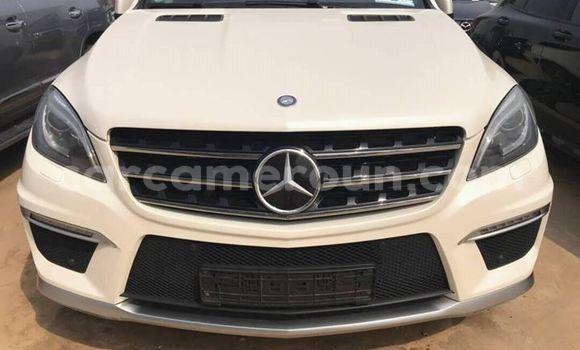 Acheter Occasion Voiture Mercedes Benz ML–Class Blanc à Douala, Littoral Cameroon