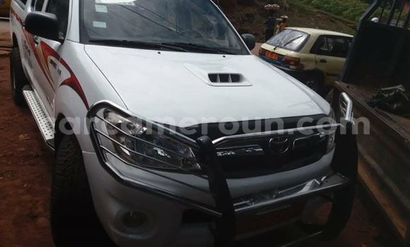 Acheter Occasion Voiture Toyota Hilux Blanc à Yaoundé, Central Cameroon
