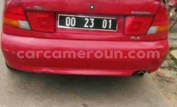 Acheter Occasion Voiture Mitsubishi Carisma Rouge à Douala, Littoral Cameroon