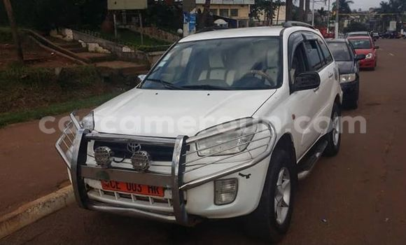 Acheter Occasion Voiture Toyota RAV4 Blanc à Yaoundé, Central Cameroon