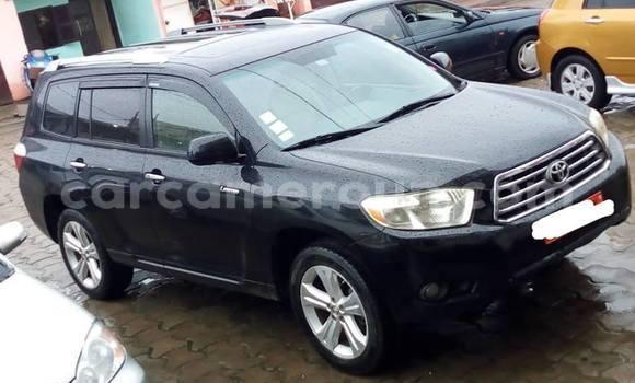 Acheter Occasion Voiture Toyota Highlander Noir à Douala, Littoral Cameroon