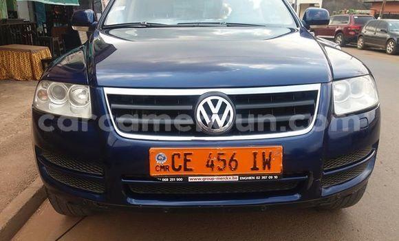 Acheter Importé Voiture Volkswagen Touareg Bleu à Yaoundé, Central Cameroon