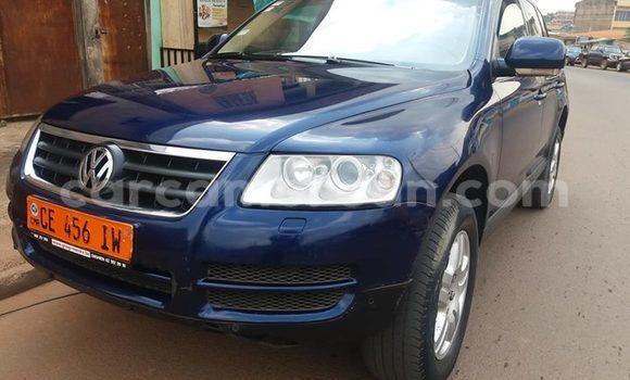 Acheter Occasion Voiture Volkswagen Touareg Bleu à Yaoundé, Central Cameroon