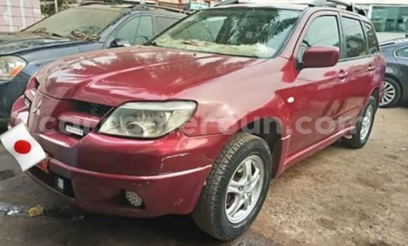 Acheter Occasion Voiture Mitsubishi Outlander Rouge à Douala, Littoral Cameroon