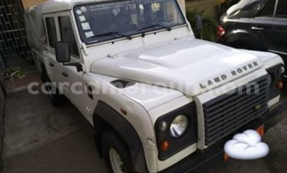 Acheter Occasion Voiture Land Rover Defender Blanc à Douala, Littoral Cameroon