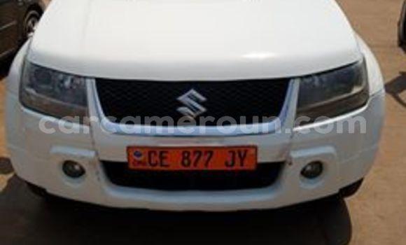 Acheter Occasion Voiture Suzuki Grand Vitara Blanc à Yaoundé, Central Cameroon