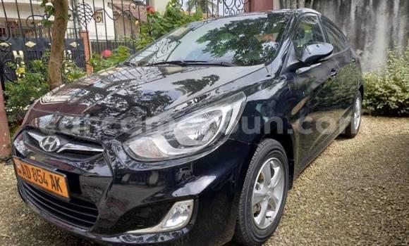 Acheter Occasion Voiture Hyundai Accent Noir à Douala, Littoral Cameroon