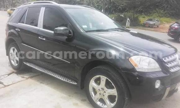 Acheter Occasion Voiture Mercedes Benz ML–Class Noir à Yaoundé, Central Cameroon