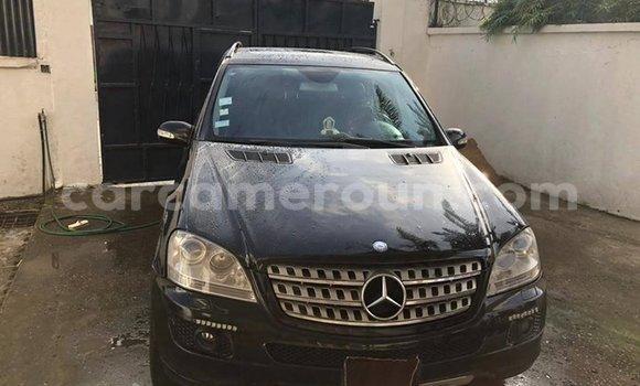 Acheter Occasion Voiture Mercedes Benz ML–Class Noir à Douala, Littoral Cameroon