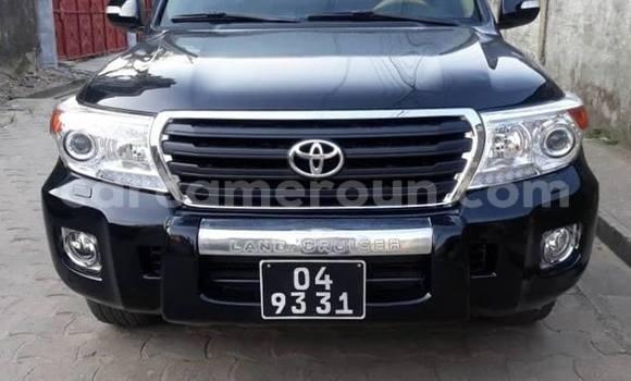 Acheter Occasion Voiture Toyota Land Cruiser Prado Noir à Yaoundé, Central Cameroon
