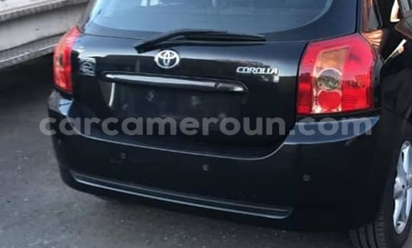 Acheter Occasion Voiture Toyota Corolla Noir à Douala, Littoral Cameroon
