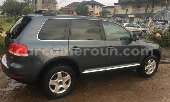 Acheter Occasion Voiture Volkswagen Touareg Gris à Douala, Littoral Cameroon