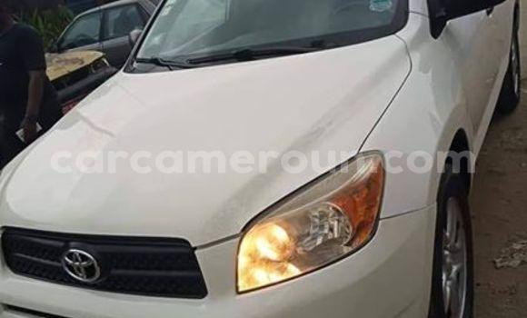 Acheter Occasion Voiture Toyota RAV4 Blanc à Douala, Littoral Cameroon