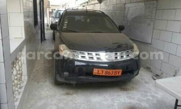 Acheter Occasion Voiture Nissan Murano Noir à Douala, Littoral Cameroon
