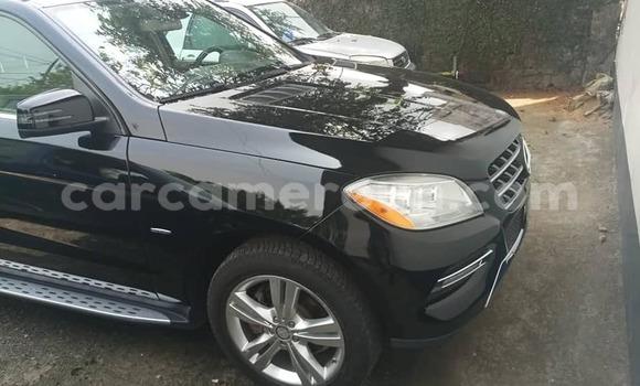 Acheter Occasion Voiture Mercedes‒Benz ML–Class Noir à Douala, Littoral Cameroon