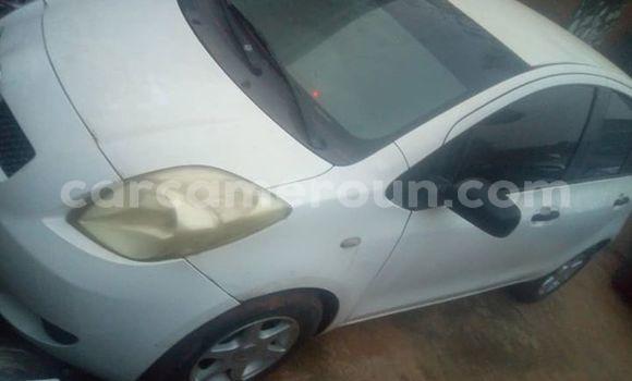 Acheter Occasion Voiture Toyota Yaris Blanc à Yaoundé, Central Cameroon