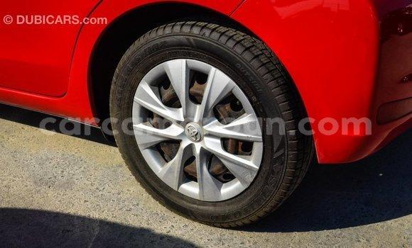Acheter Importé Voiture Toyota Yaris Rouge à Import - Dubai, Adamawa