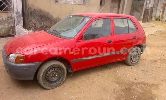 Acheter Occasion Voiture Toyota Starlet Rouge à Yaoundé, Central Cameroon