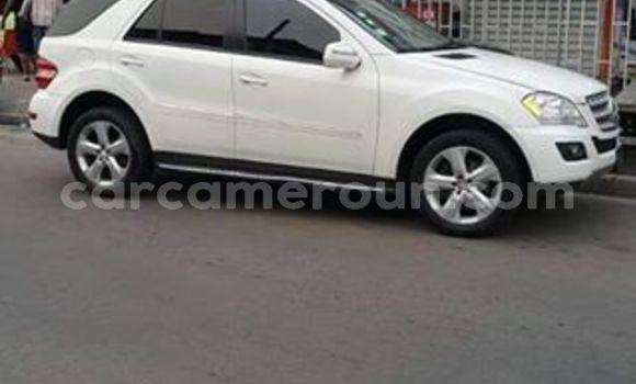 Acheter Occasion Voiture Mercedes‒Benz ML–Class Blanc à Yaoundé, Central Cameroon
