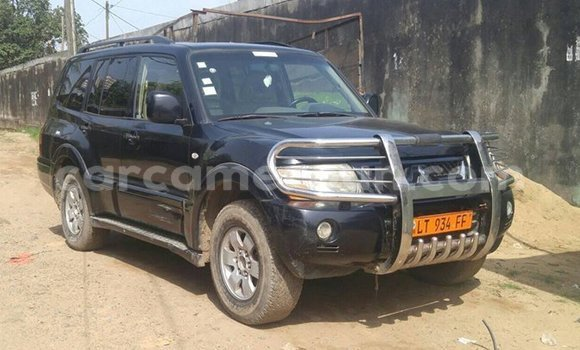 Acheter Occasion Voiture Mitsubishi Pajero Noir à Douala, Littoral Cameroon