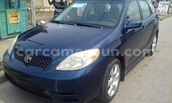 Acheter Occasion Voiture Toyota Matrix Bleu à Douala, Littoral Cameroon