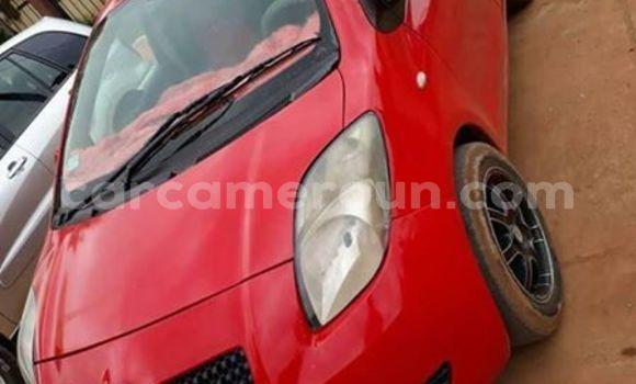 Acheter Occasion Voiture Toyota Vitz Rouge à Yaoundé, Central Cameroon