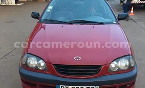 Acheter Occasion Voiture Toyota Avensis Rouge à Yabassi, Littoral Cameroon