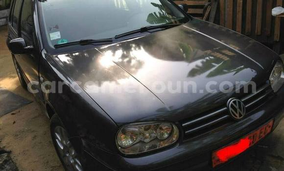 Acheter Occasion Voiture Volkswagen Golf Noir à Douala, Littoral Cameroon