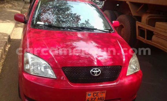 Acheter Occasions Voiture Toyota Corolla Rouge à Tibati au Adamawa