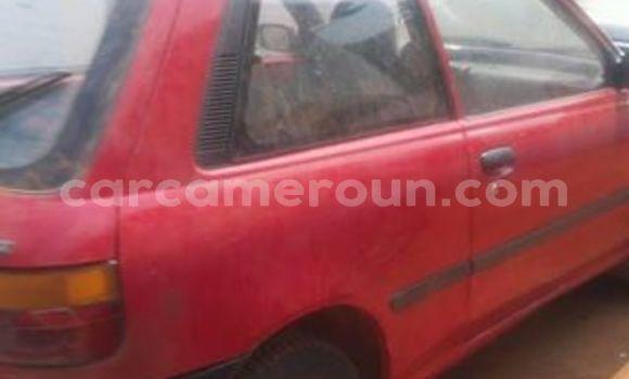 Acheter Occasion Voiture Toyota Starlet Rouge à Tibati au Adamawa