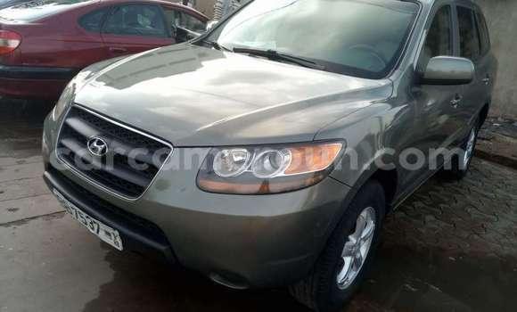 Acheter Occasion Voiture Hyundai Santa Fe Gris à Yaoundé au Central Cameroon