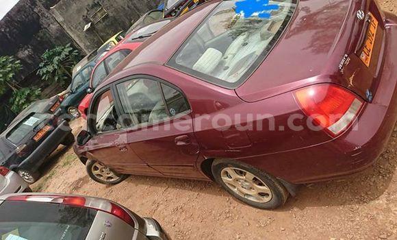Acheter Occasion Voiture Hyundai Elantra Rouge à Yaoundé au Central Cameroon