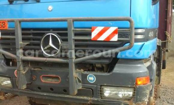 Acheter Occasion Utilitaire Mercedes‒Benz Truck Bleu à Douala au Littoral Cameroon