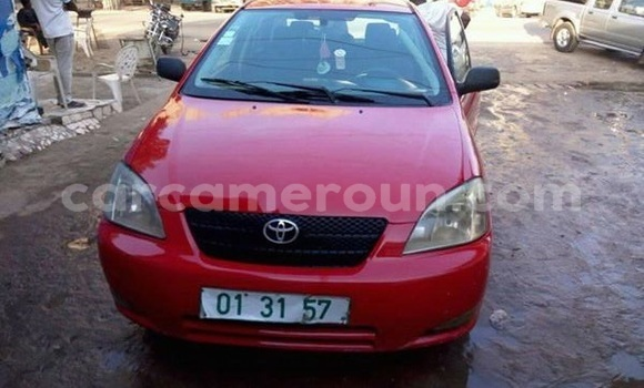 Acheter Occasion Voiture Toyota Corolla Rouge à Douala au Littoral Cameroon
