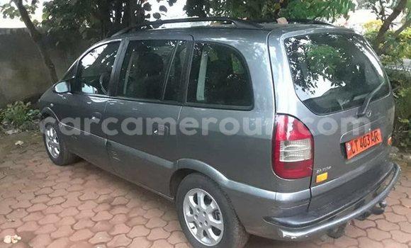 Acheter Occasions Voiture Opel Zafira Gris à Yaoundé au Central Cameroon